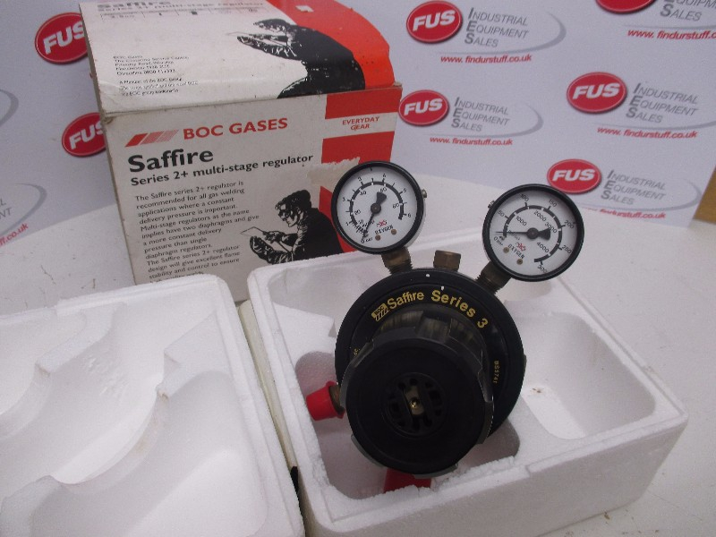 Saffire Series 2+ Multi-Stage Regulator