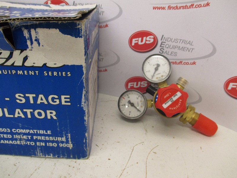 "Nexus Single Stage Acetylene Regulator, 2"" Gauge"