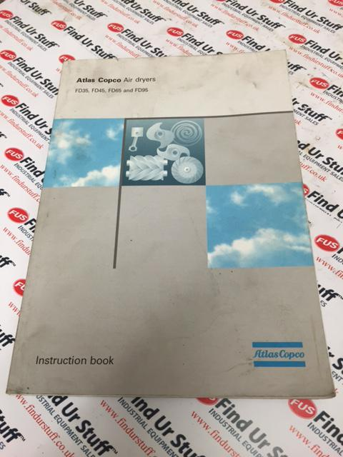 Atlas Copco Air Dryers FD35 Etc Instruction Book