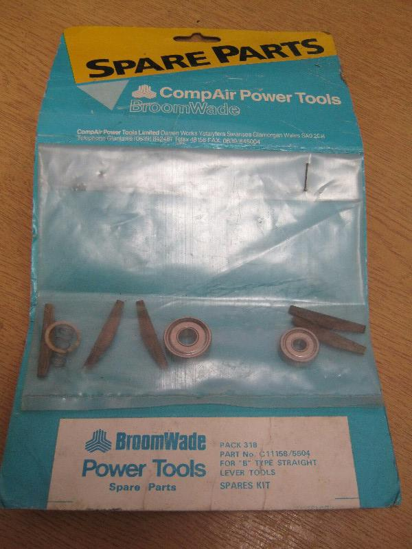 Compair Broomwade C11158/5504 Spares Kit