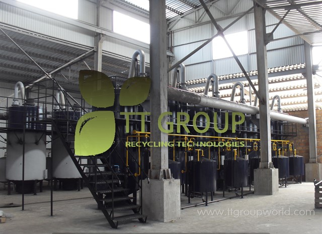 Rubber recycling plant FORTAN