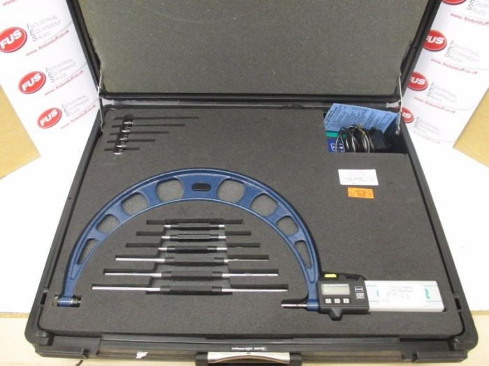 Moore & Wright / Cadar 150-300mm Digital Micrometer - Setting Bars In Box