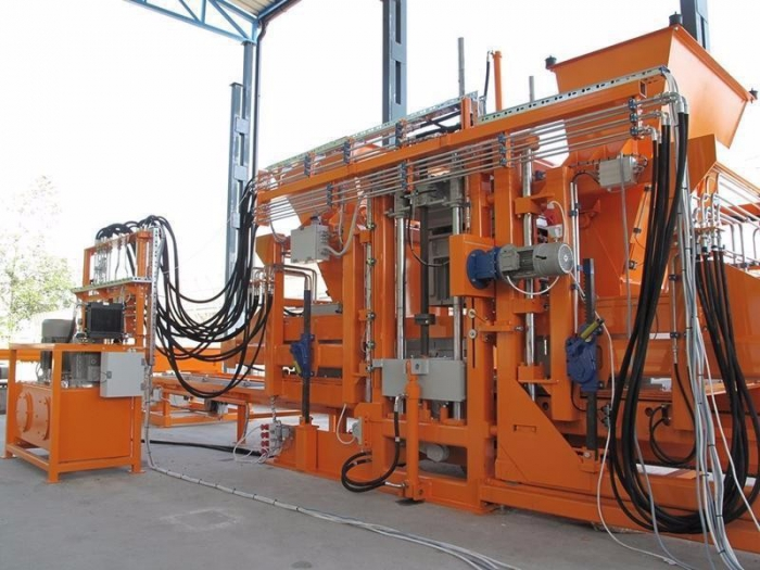 Block production line SUMAB U 1000