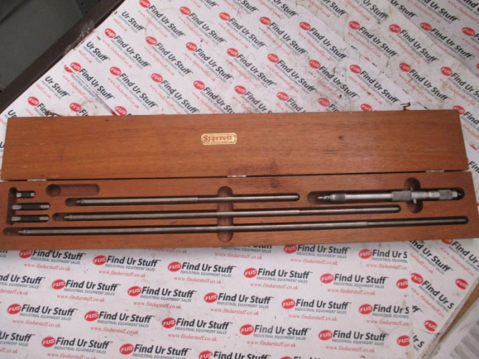 Starrett No 124 Solid Rod Inside Micrometer, 200-800mm - In Box