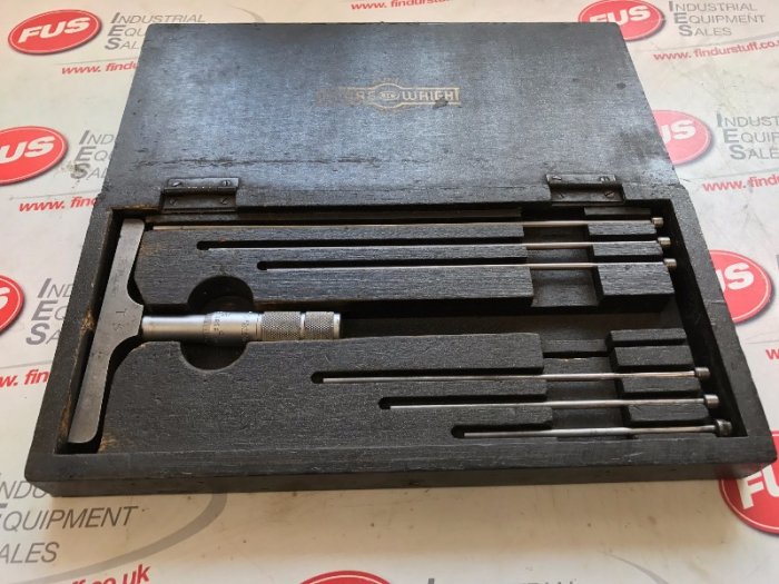 Moore and Wright 0-6 Inch Depth Micrometer