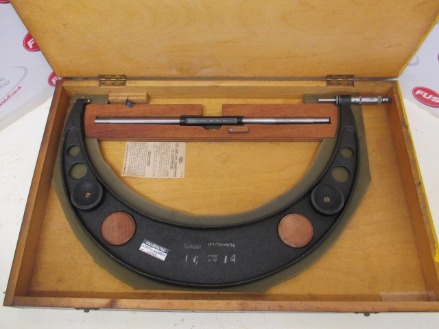 "Moore & Wright No. 982 15""-16"" Aluminium Frame External Outside Micrometer,"