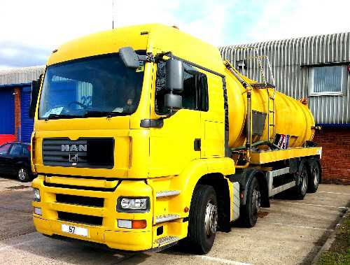 8 x 4k Crossland Vacuum Tanker, Ready to Work !!