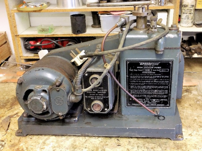 Edwards SpeediVac 1SC50 Single Stage Vacuum pump.
