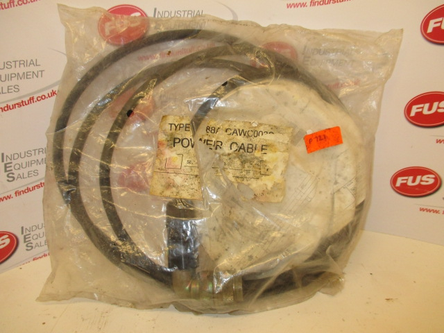 Type R88A-CAWC003S-E Power Cable -Unused