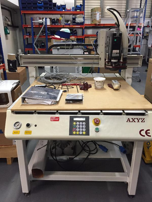 AXYZ Millennium CNC Router - Coming Soon
