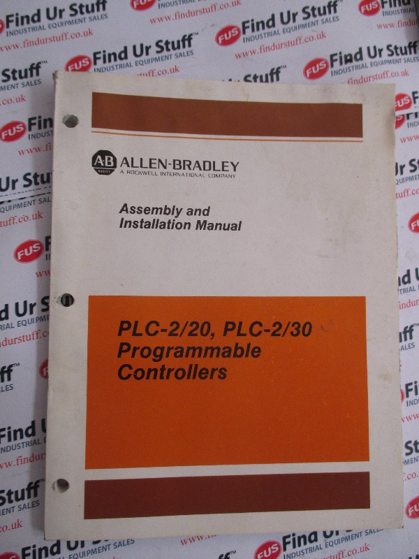 Allen Bradley Assembly and Installation Manual
