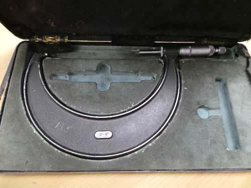 "Moore & Wright 5""-6"" Micrometer"