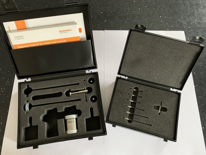 Renishaw SP25M-2 Scanning Module, SH25-2 Holder, M3 Carbon Fiber Styli Kit