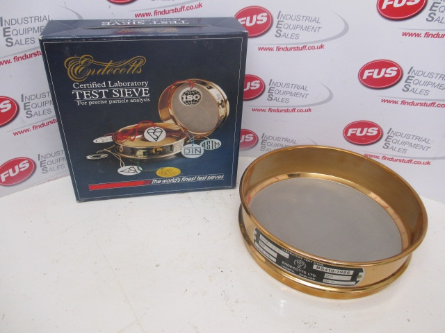 Endecotts 200mm Dia Brass BS410 125 Micron Test Sieve, Unused In Box