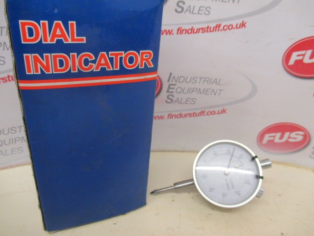 Dial Indicator, Graduation 0.01mm, Range 0-10mm - Excellent Condition