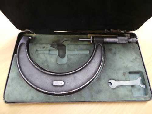 Moore & Wright 100-125mm No 966M Micrometer