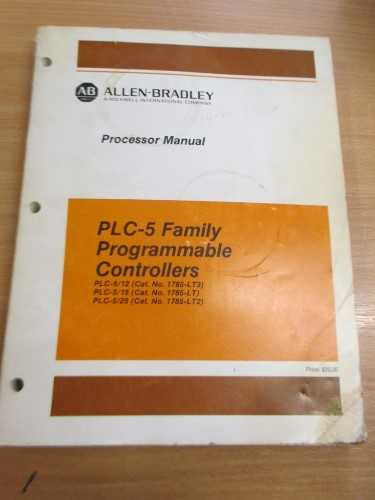Allen Bradley PLC-5 Family Processor Manual