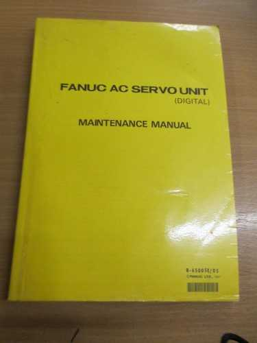 Fanuc AC Servo Unit (Digital) Maintenance Manual