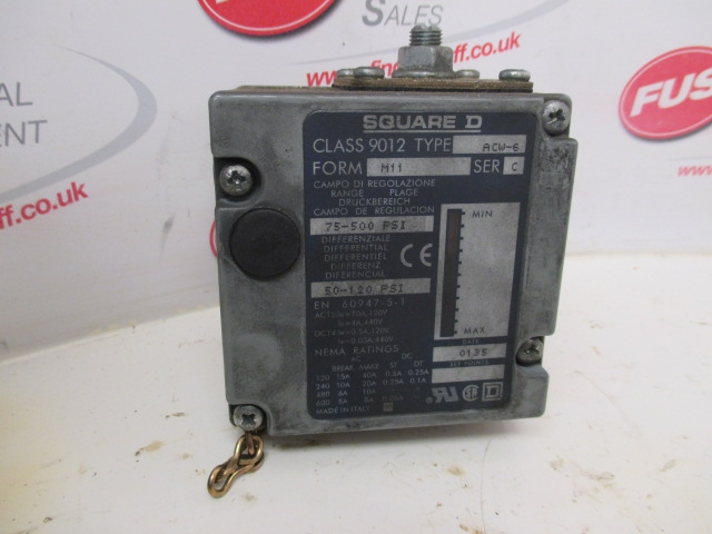 Square D ACW-6, Class 9012, Form M11, Series C - Used Condition