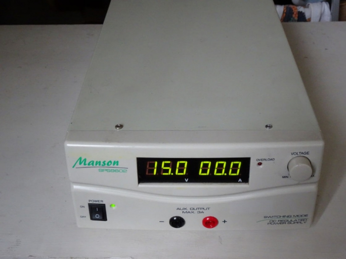 Lab power supply 30V 30A