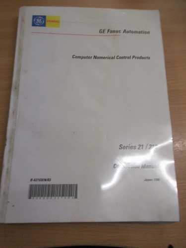 GE Fanuc Automation Series 21/210 Manual